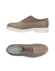 Alberto Guardiani Lace Up Shoes Dove Grey