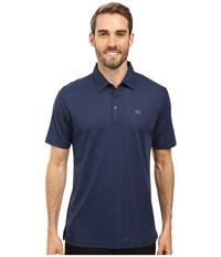 Travis Mathew Jj's Legacy Polo Dress Blues Men's Clothing Navy