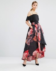 Coast Maiden Tie Floral Skirt Multi