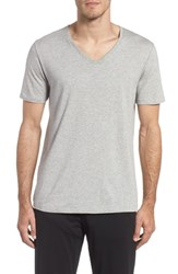 Tommy John Second Skin V Neck T Shirt Heather Grey