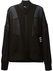 Y 3 Sheer Panel Track Jacket Black
