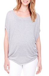 Women's Ingrid And Isabel Draped Maternity Tee