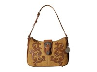 American West Shady Cove Shoulder Bag Honey Golden Tan Shoulder Handbags Brown