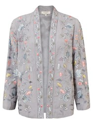 East Lavina Embroidered Jacket Dove