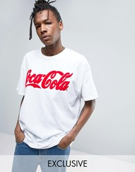 Reclaimed Vintage X Coca Cola Oversized T Shirt White