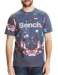 Bench Graphic Short Sleeve Tee Navy