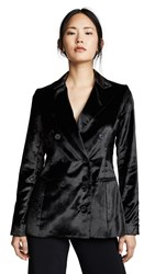 Cushnie Et Ochs Fitted Double Breasted Button Jacket Black