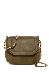Urban Expressions Willow Faux Leather Crossbody Green