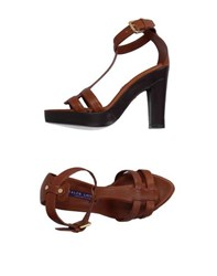 Ralph Lauren Collection Footwear Sandals Women Brown