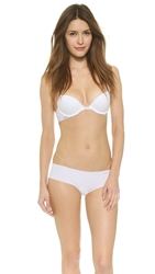 Calvin Klein Underwear Fashion Cotton Flirty Push Up Bra White