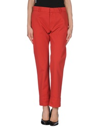 Band Of Outsiders Casual Pants Red