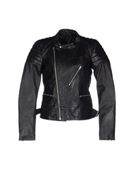 Blk Dnm Jackets Black