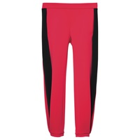 Les Cinq Cycling Scuba Jog Pants Black Red Black Red