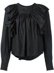 Isabel Marant Arlington Blouse Black