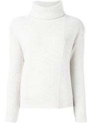 Odeeh Roll Neck Sweater Nude And Neutrals