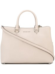 Michael Michael Kors 'Savannah' Tote Nude And Neutrals
