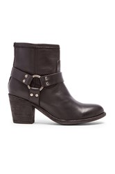 Frye Tabitha Harness Short Boot Black