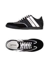 Galliano Footwear Low Tops And Sneakers Black