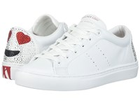 Skechers Side Street Love Is Blind White Women's Lace Up Casual Shoes