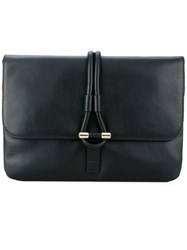 Tila March Romy Clutch Women Leather One Size Black