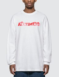 Alltimers Rock Planet Long Sleeve T Shirt White