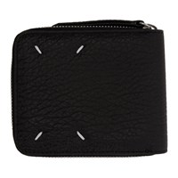 Maison Martin Margiela Black Square Zip Wallet