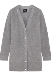 Mcq By Alexander Mcqueen Ribbed Wool Cardigan