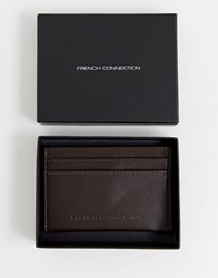 French Connection Premium Cardholder Brown