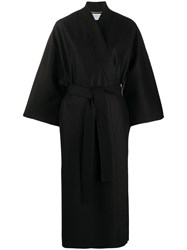 Harris Wharf London Belted Wrap Front Coat 60