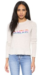 Zadig And Voltaire Happy Cashmere Sweater Ecru