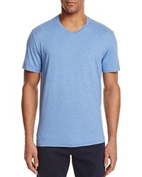 Bloomingdale's The Men's Store At Pima Cotton V Neck Tee Laguna Heather