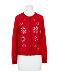Simone Rocha Cardigan Red