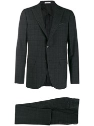 Boglioli Checked Tailored Two Piece Suit 60