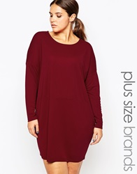 Carmakoma Shift Dress Red