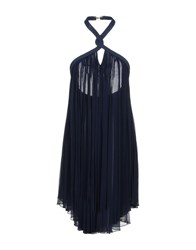 Jay Ahr Knee Length Dresses Dark Blue