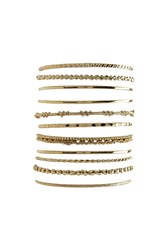 Forever 21 Burnished Bangle Set
