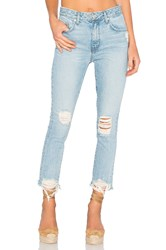 Lovers Friends Logan High Rise Tapered Jean Siena