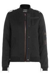 Anthony Vaccarello Wool Jacket Black