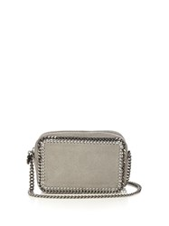 Stella Mccartney Falabella Camera Faux Leather Cross Body Bag Grey