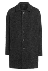 Iro Coat With Wool And Alpaca Black