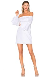 Amanda Uprichard Arabelle Dress White