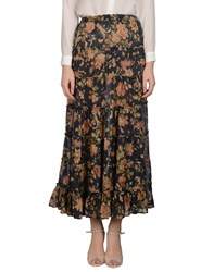 Denim And Supply Ralph Lauren Skirts Long Skirts Women Dark Blue