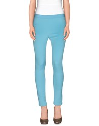 Compagnia Italiana Trousers Casual Trousers Women Turquoise