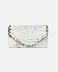Stella Mccartney White Falabella Continental Wallet
