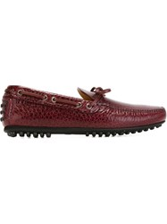 Car Shoe Classic Driving Shoes Red