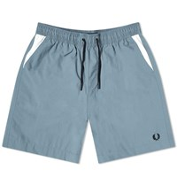Fred Perry Authentic Chevron Short Blue