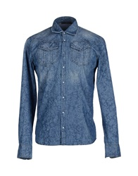 Fdn Denim Shirts Blue