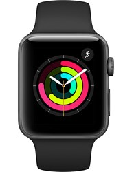 Apple Watch Series 3 Gps Cellular Space Grey Aluminium Case With Fog Sport Band 42Mm Black