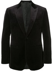 Gieves And Hawkes Classic Blazer Cotton Blue