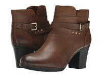 Rockport City Casuals Catriona Buckle Bootie Nutella Nubuck Women's Boots Brown